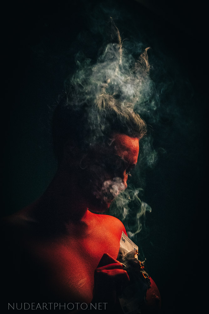 smoking devil